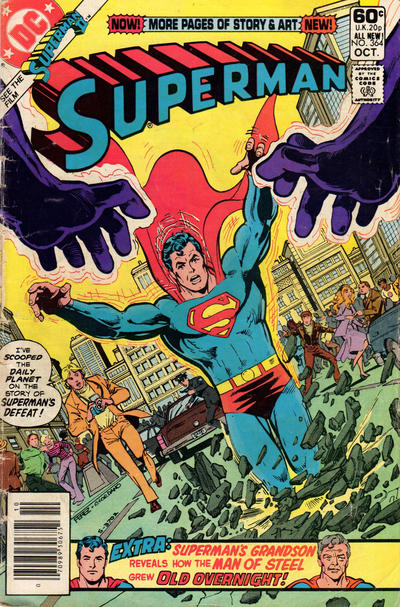 Cover for Superman (DC, 1939 series) #364 [Direct]