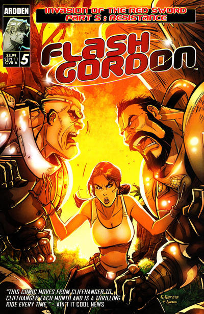 Cover for Flash Gordon: Invasion of the Red Sword (Ardden Entertainment, 2011 series) #5