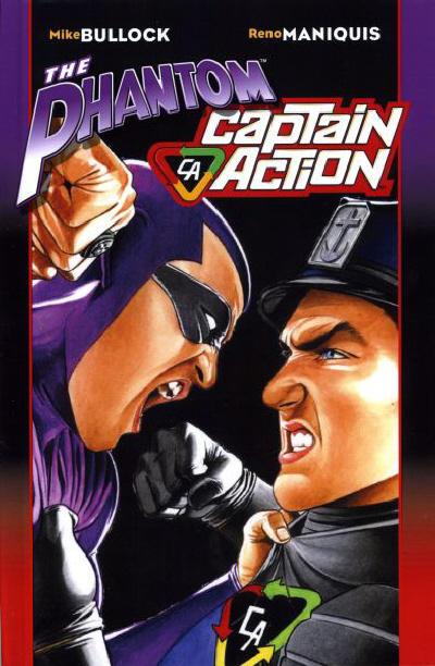 Cover for The Phantom - Captain Action (Moonstone, 2010 series) #[nn] [Art Thibert cover]