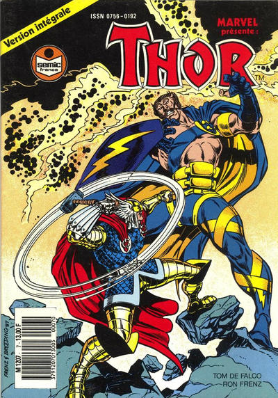 Cover for Thor (Semic S.A., 1989 series) #7