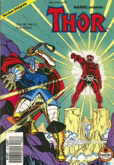 Cover for Thor (Semic S.A., 1989 series) #8
