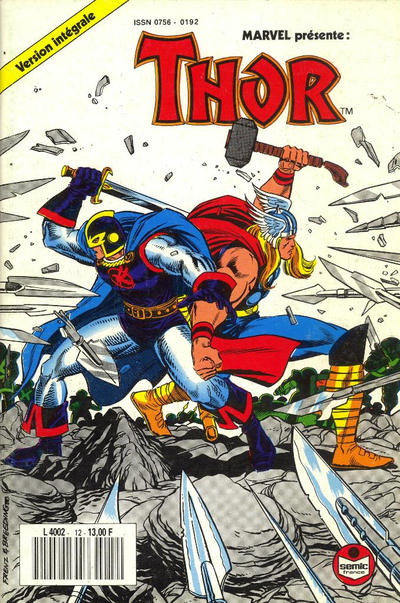 Cover for Thor (Semic S.A., 1989 series) #12