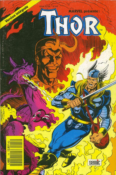 Cover for Thor (Semic S.A., 1989 series) #14