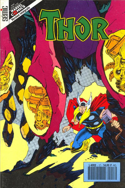 Cover for Thor (Semic S.A., 1989 series) #17