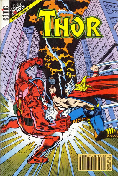 Cover for Thor (Semic S.A., 1989 series) #23