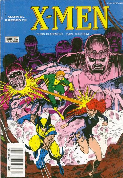Cover for X-Men Saga (Semic S.A., 1990 series) #1