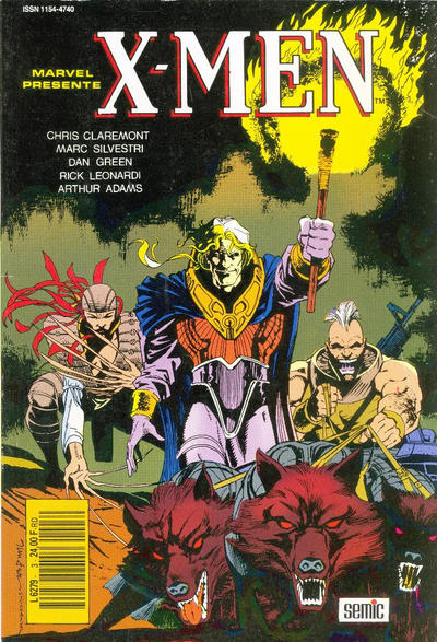 Cover for X-Men Saga (Semic S.A., 1990 series) #3