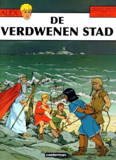 Cover for Alex (Casterman, 1968 series) #28 - De verdwenen stad