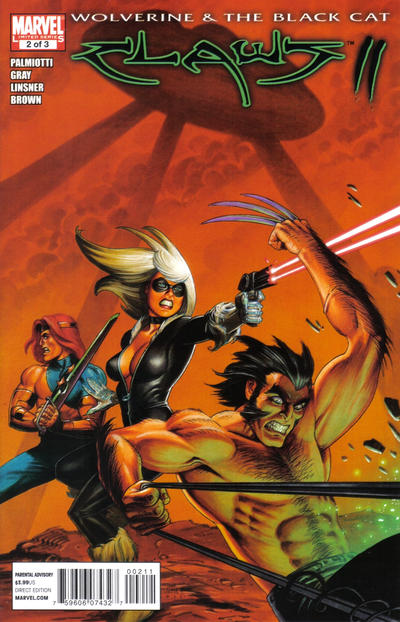 Cover for Wolverine & Black Cat: Claws 2 (Marvel, 2011 series) #2