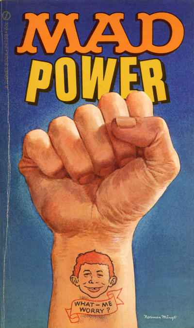 Cover for Mad Power (New American Library, 1970 series) #P4398