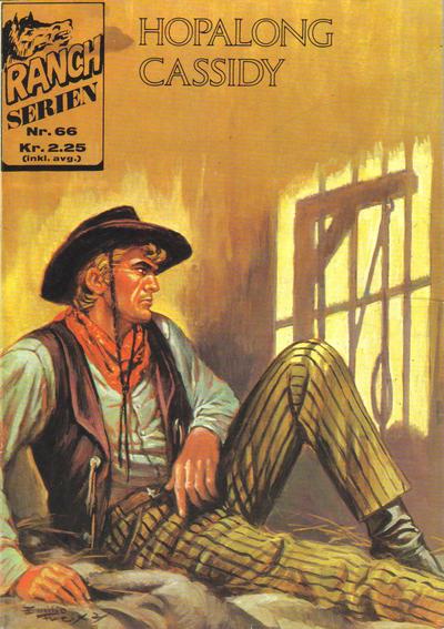 Cover for Ranchserien (Illustrerte Klassikere / Williams Forlag, 1968 series) #66