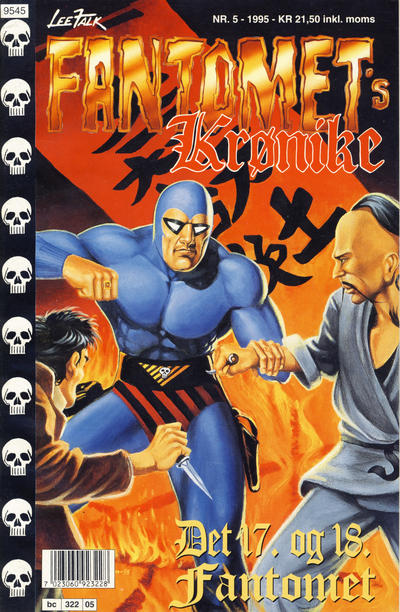 Cover for Fantomets krønike (Semic, 1989 series) #5/1995