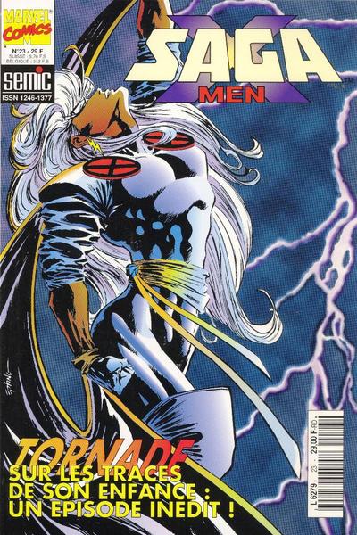 Cover for X-Men Saga (Semic S.A., 1990 series) #23