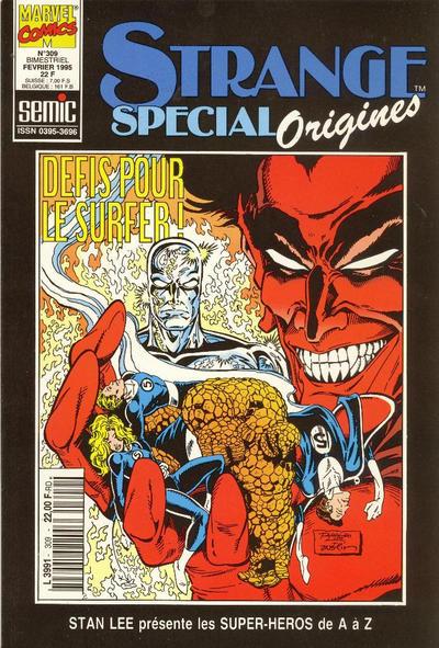 Cover for Strange Spécial Origines (Semic S.A., 1989 series) #309