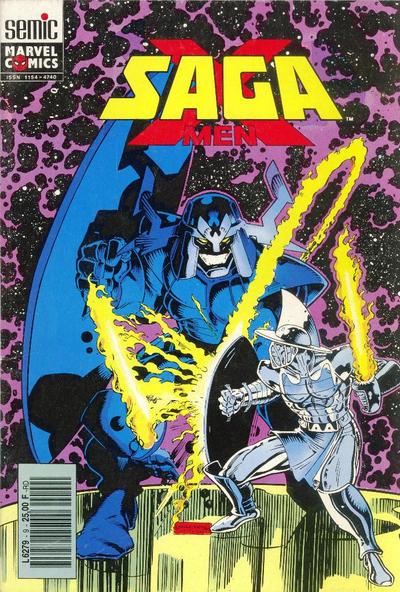 Cover for X-Men Saga (Semic S.A., 1990 series) #9
