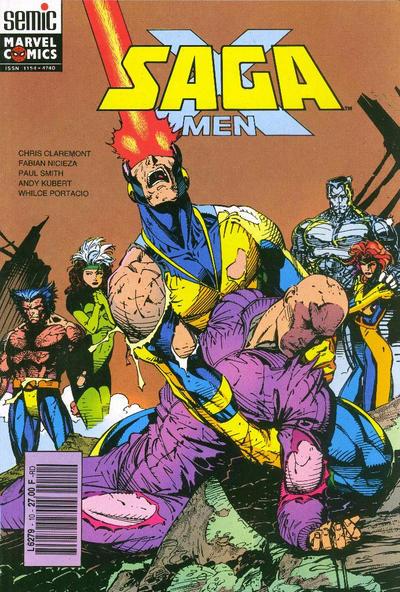 Cover for X-Men Saga (Semic S.A., 1990 series) #10