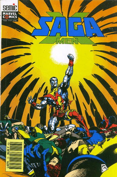 Cover for X-Men Saga (Semic S.A., 1990 series) #13