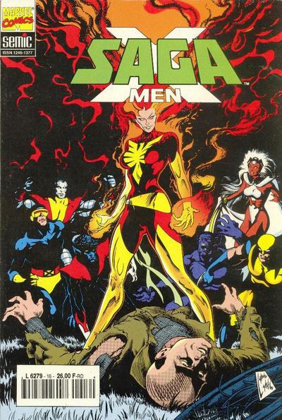 Cover for X-Men Saga (Semic S.A., 1990 series) #16