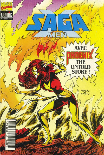 Cover for X-Men Saga (Semic S.A., 1990 series) #17