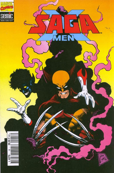 Cover for X-Men Saga (Semic S.A., 1990 series) #18