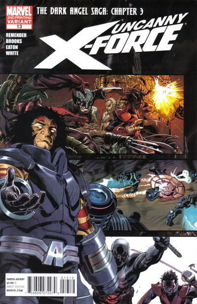Cover for Uncanny X-Force (Marvel, 2010 series) #13