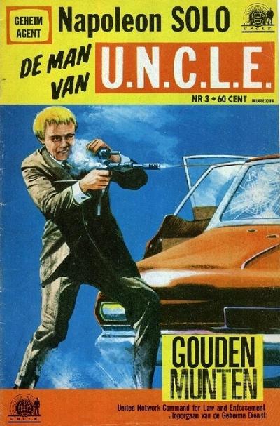 Cover for Napoleon Solo de Man van U.N.C.L.E. (Semic Press, 1967 series) #3