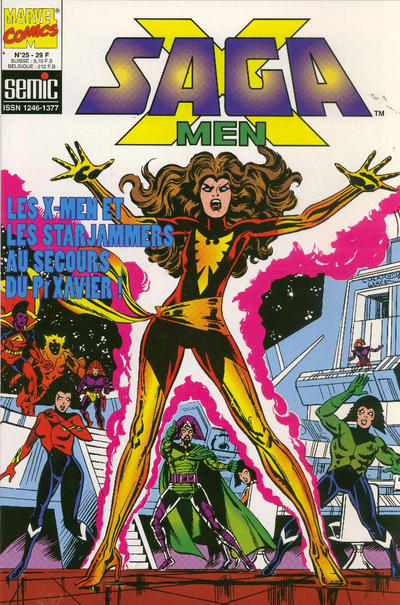 Cover for X-Men Saga (Semic S.A., 1990 series) #25