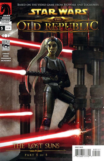 Cover for Star Wars: The Old Republic - The Lost Suns (Dark Horse, 2011 series) #5