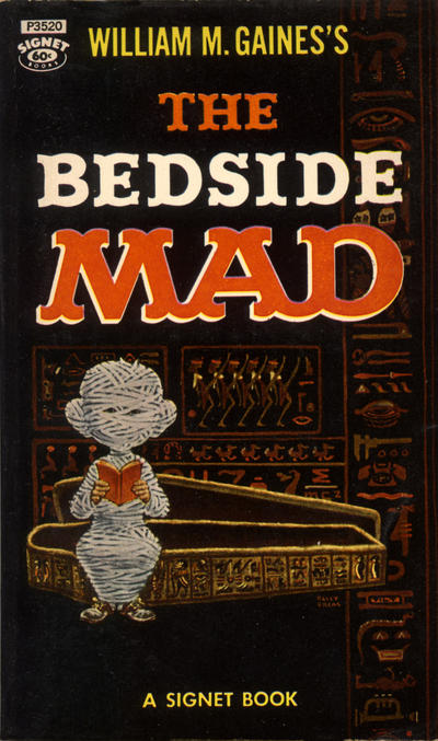Cover for The Bedside Mad (New American Library, 1959 series) #P3520