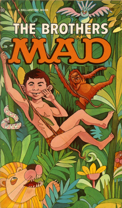 Cover for The Brothers Mad (Ballantine Books, 1958 series) #5 (01567)