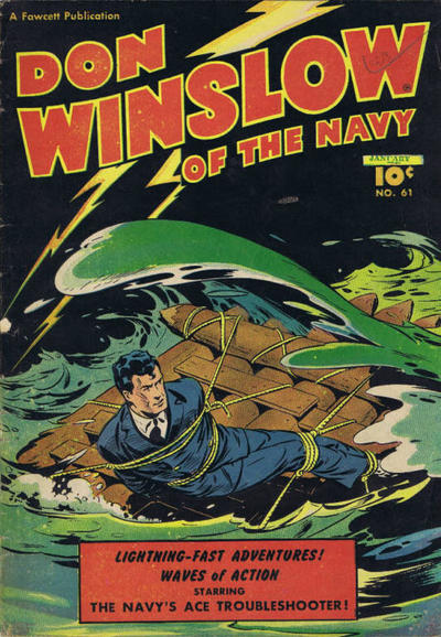 Cover for Don Winslow of the Navy (Export Publishing, 1948 series) #61