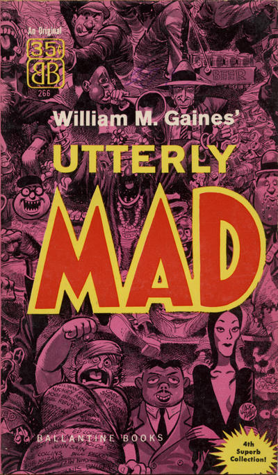 Cover for Utterly Mad (Ballantine Books, 1956 series) #4 (266)
