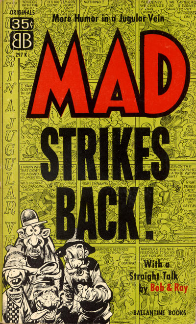 Cover for Mad Strikes Back (Ballantine Books, 1955 series) #297K (297K)