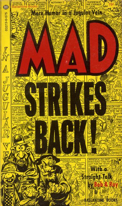 Cover for Mad Strikes Back (Ballantine Books, 1955 series) #03373-6 (03373-6)
