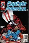 Cover for Captain America (Marvel, 1998 series) #35 [Direct Edition]