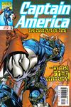 Cover for Captain America (Marvel, 1998 series) #18 [Direct Edition]