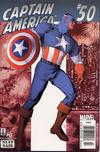 Cover Thumbnail for Captain America (1998 series) #50 (518) [Newsstand Edition]