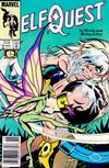 Cover for ElfQuest (Marvel, 1985 series) #16 [Newsstand]