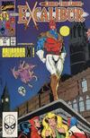 Cover for Excalibur (Marvel, 1988 series) #21 [Direct Edition]
