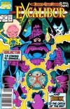 Cover for Excalibur (Marvel, 1988 series) #25 [Newsstand]