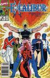 Cover for Excalibur (Marvel, 1988 series) #26 [Newsstand Edition]