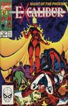 Cover for Excalibur (Marvel, 1988 series) #29 [Direct Sales]