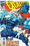 Cover for Excalibur (Marvel, 1988 series) #77 [Direct Edition]