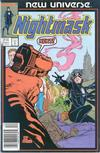 Cover for Nightmask (Marvel, 1986 series) #2 [Newsstand]