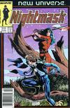 Cover for Nightmask (Marvel, 1986 series) #4 [newsstand]