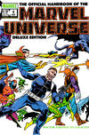 Cover for The Official Handbook of the Marvel Universe (Marvel, 1985 series) #4 [Direct]
