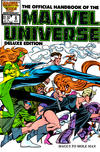 Cover for The Official Handbook of the Marvel Universe (Marvel, 1985 series) #8 [Direct]