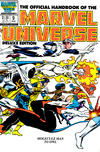 Cover for The Official Handbook of the Marvel Universe (Marvel, 1985 series) #9 [Direct]
