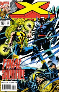 Cover Thumbnail for X-Factor (Marvel, 1986 series) #105 [Direct Edition]