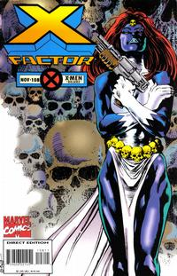 Cover Thumbnail for X-Factor (Marvel, 1986 series) #108 [Deluxe Direct Edition]